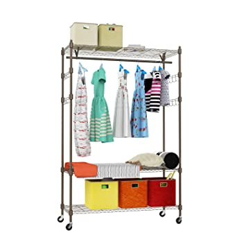 Amazon.com: Homdox 3-Tiers Large Size Heavy Duty Wire Shelving ...