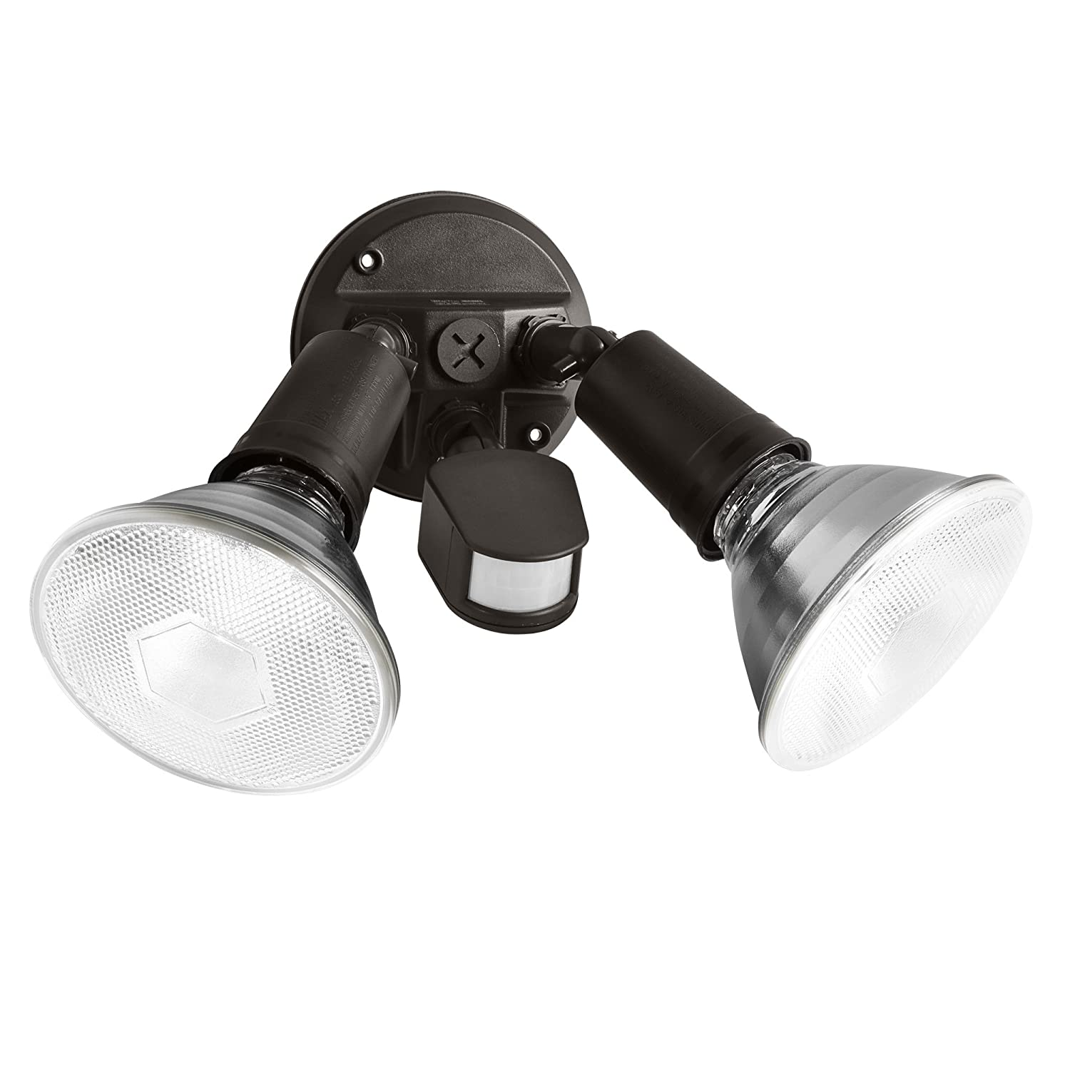 Motion Sensing Outdoor Security Lights: NEW Brinks 110-Degree Motion Par Security Light Sensor