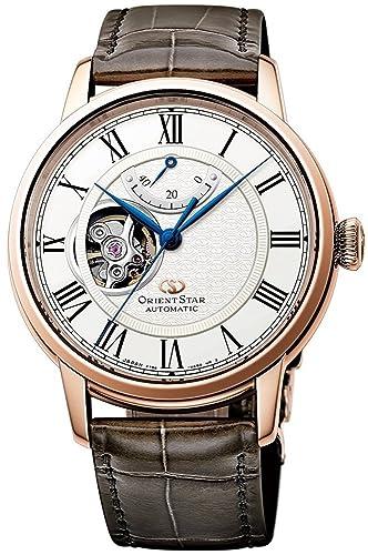 ORIENT Star RE-HH0003S - Reloj automático de Oro Rosa con corazón Abierto y Reserva de energía: Amazon.es: Relojes