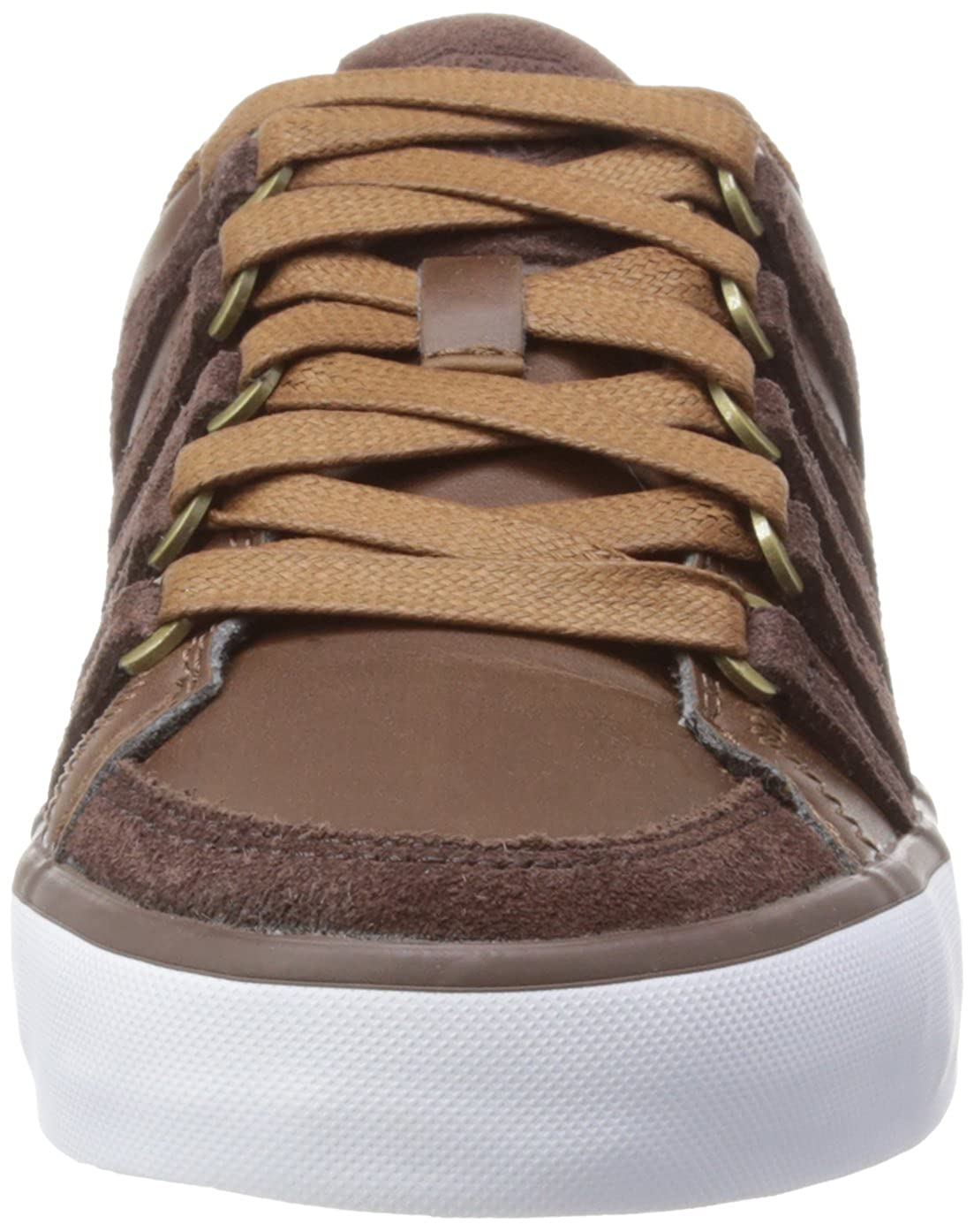 K-Swiss Gowmet II VNZ Kids leather lifestyle sneaker brown