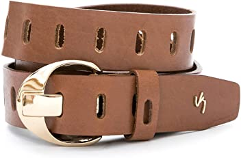 Velez Women Genuine Leather Casual Belt | Correa y Cinturones de Cuero de Mujer