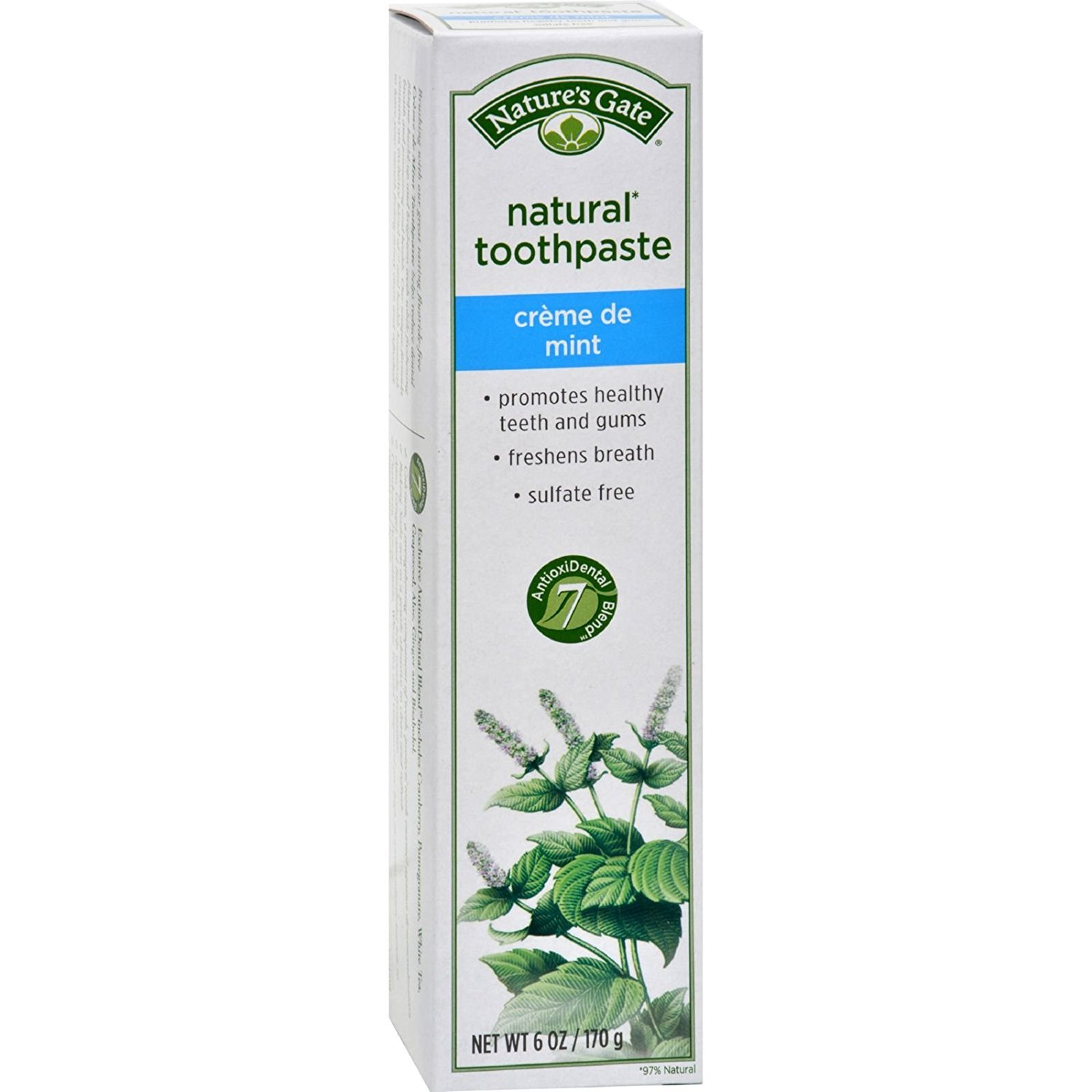 Nature S Gate Fluoride Free Natural Creme Toothpaste