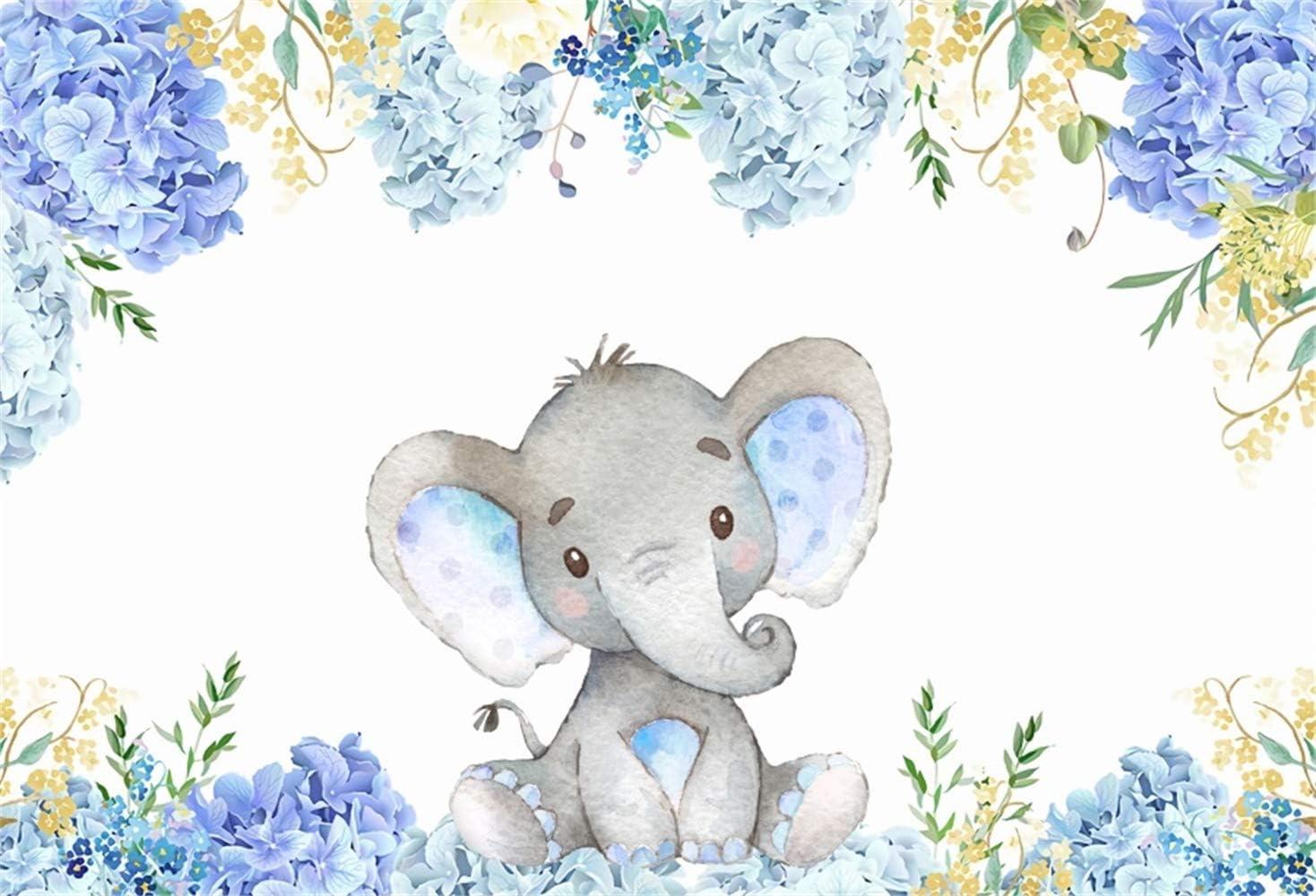 Amazon.com: Yeele - Fondo para fotografía de elefante de 5 x ...