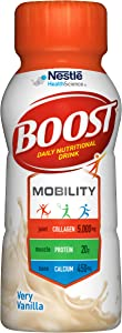 Boost Mobility Vanilla, 8.01 Fl Oz (Pack of 24)