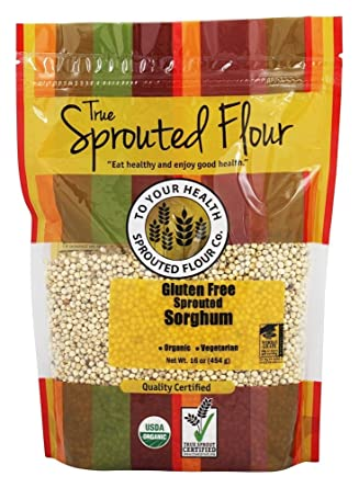 1 Lb. Orgánico brotado Sorgo: Amazon.com: Grocery & Gourmet Food
