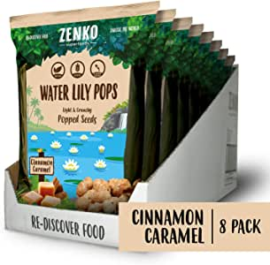 Water Lily Pops - Cinnamon Caramel (8-pack)