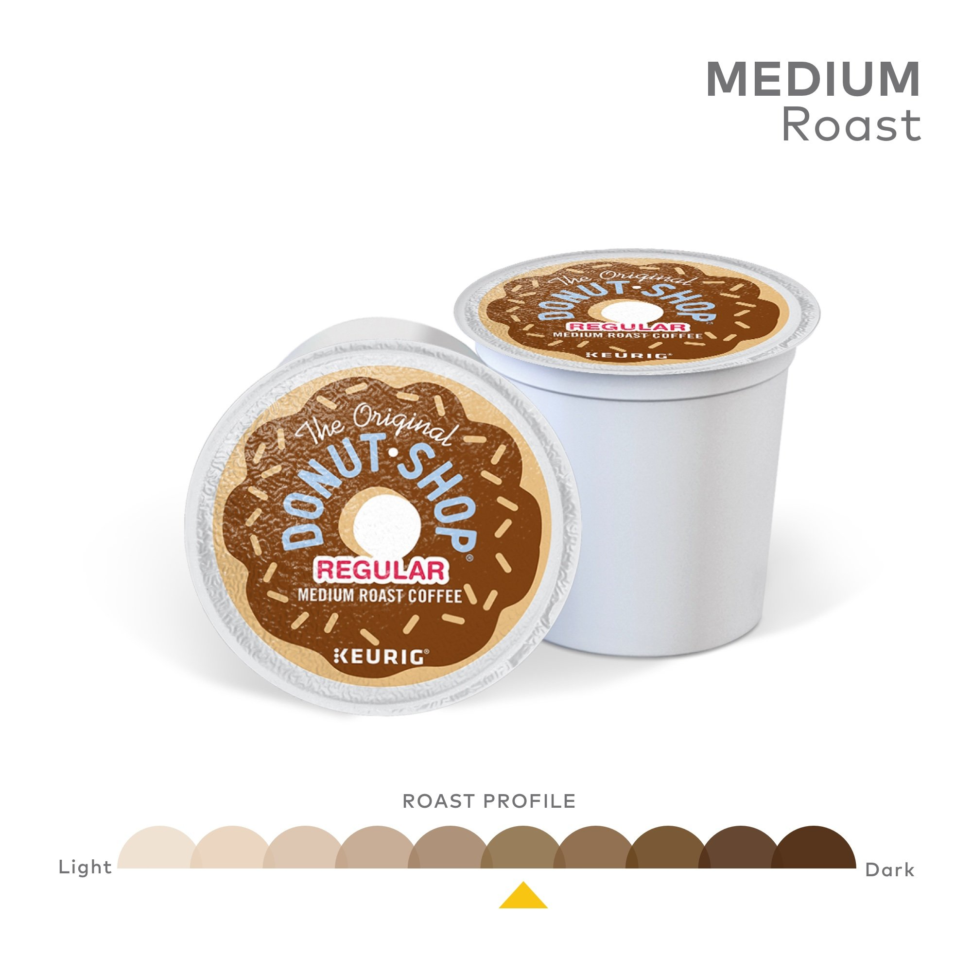 The Original Donut Shop Coffee, Regular Medium Roast, K-Cup Portion Count for Keurig Brewers 24-Count (Pack of 4) by The Original Donut Shop (Image #4)