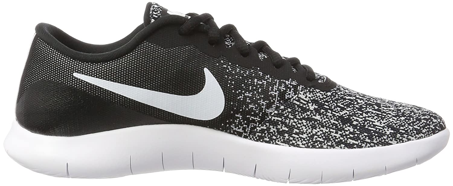 Amazon.com | Nike Mens Flex Contact Running Shoes (8.5 D(M) US, Black White) | Road Running