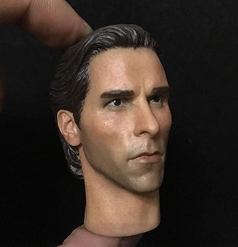 Amazon com: FidgetKute Custom 1/6 Scale American Psycho Head