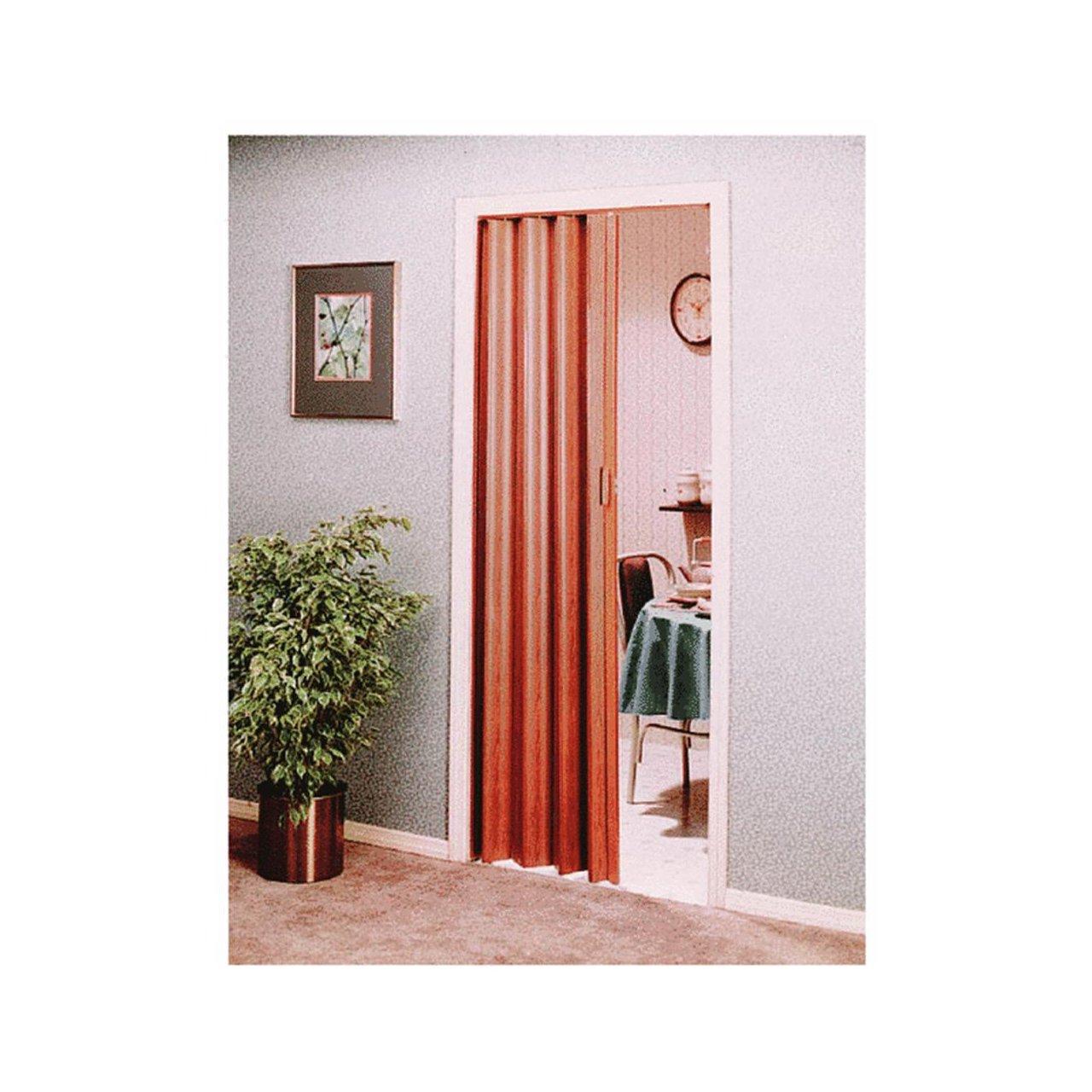 spectrum en3280fl encore accordion door x 80inch reddish brown wood multifold interior doors amazoncom