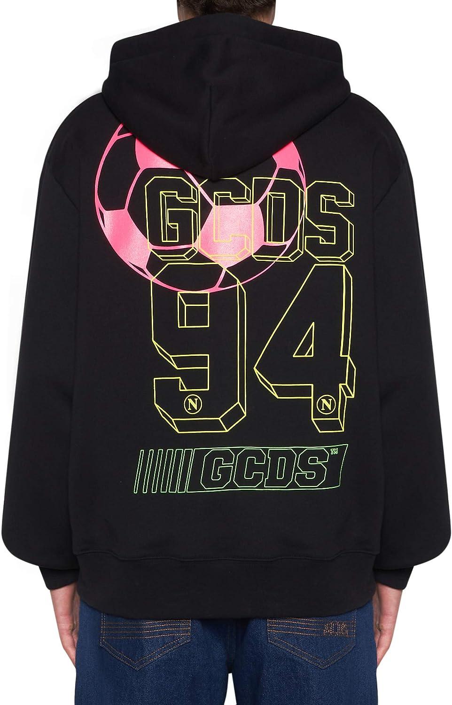 Gcds SSC Napoli X Felpa Crew Abbigliamento Calcio tomorrowshope.tv