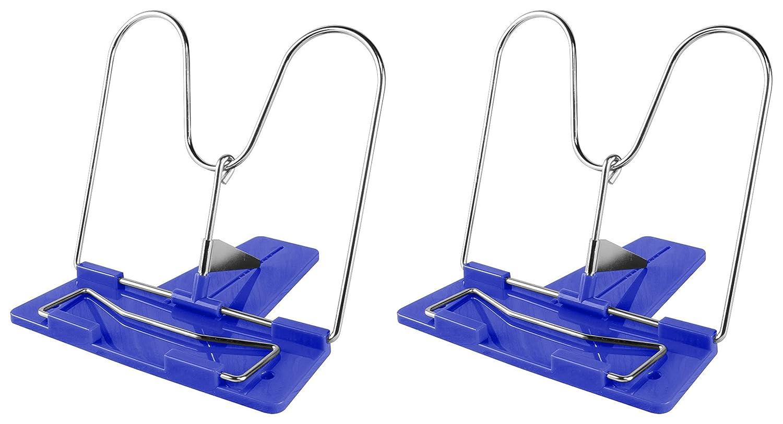Blau, 1 St/ück Lesest/änder//Buchhalter//Buchst/änder//mit Metallb/ügel //