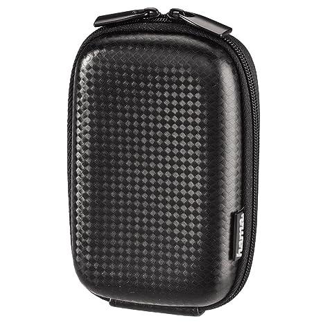 Hama Hardcase Carbon Style 60H - Estuche para cámaras de foto, color negro