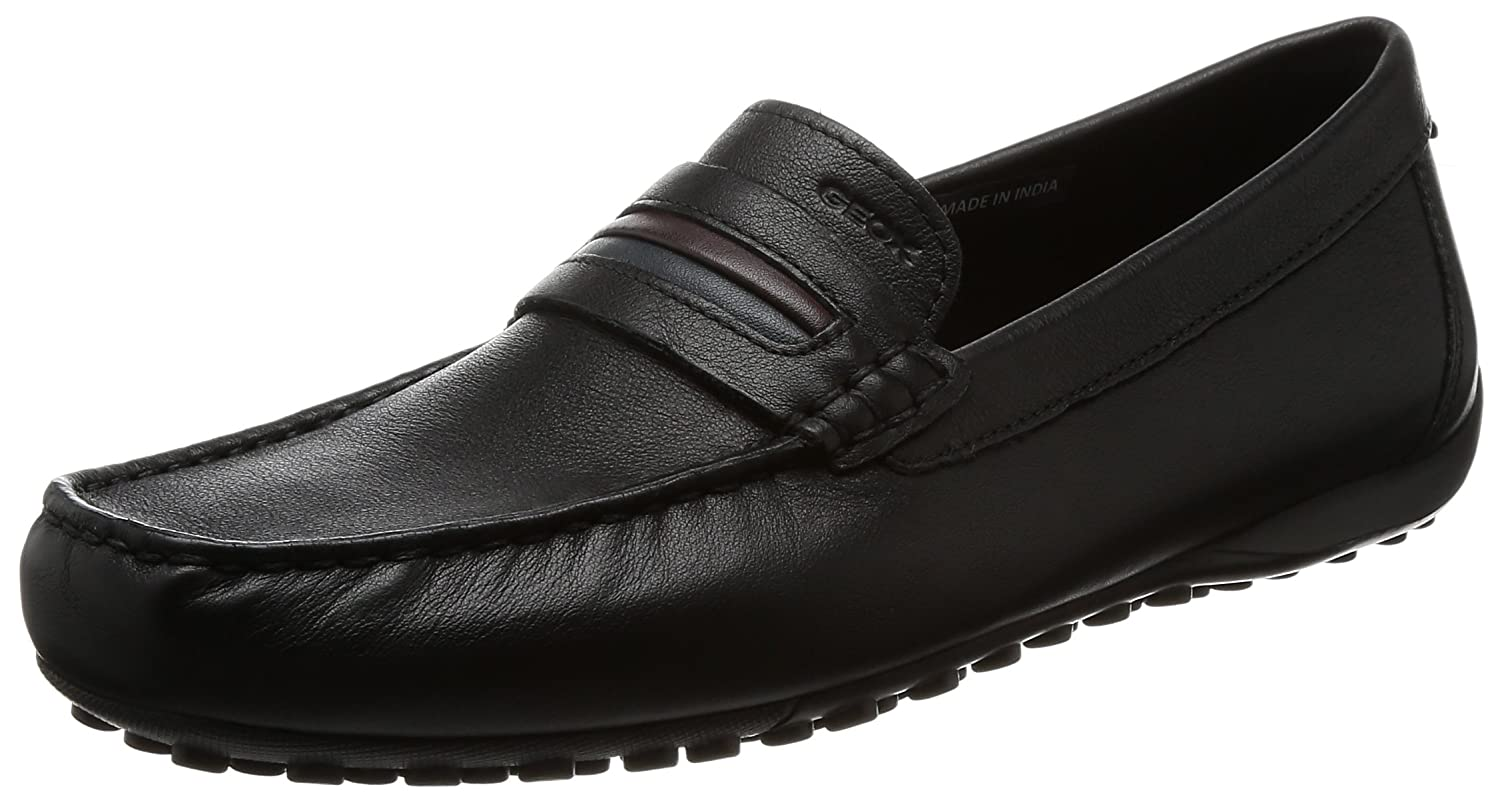 2c2588f3b4 Amazon.com | Geox Men's Snake Moc 2fit 4 Slip on Loafer | Loafers & Slip-Ons