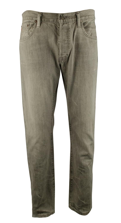 Polo Ralph Lauren Men's Varick Slim-Straight Distressed Jeans