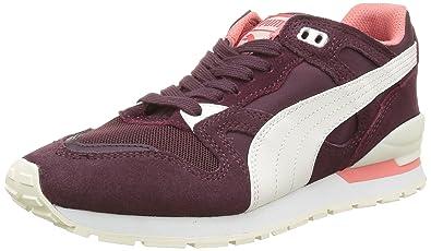 Puma Damen Duplex Classic Low-Top, Rot-Rouge (Winetasting/Whisper White), 37 EU