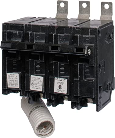Siemens 50 Amp Circuit Breaker B35000s01 Shunt Trip Magnetic Circuit Breakers Amazon Com