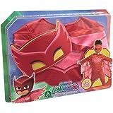 Giochi Preziosi PJ Masks PJM074 Traje de fantasía para niños - Trajes de fantasía para niños (Disfraz, Dibujos Animados, Niño/niña, Rojo, 3 año(s), China)