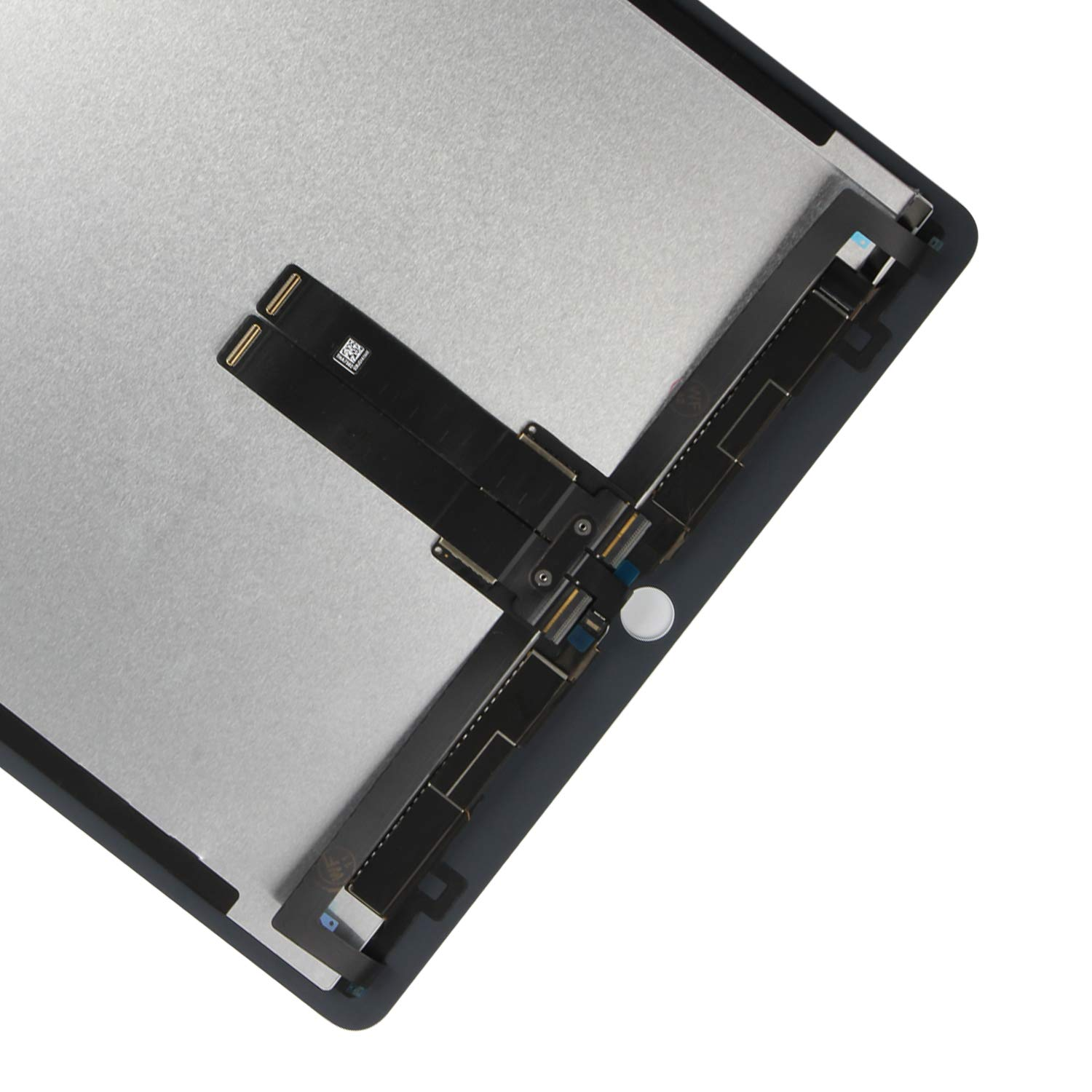 for iPad Pro 12.9 A1670 A1671 A1821 Screen Replacement LCD Display Touch Screen Digitizer + IC Connector PCB Flex Cable Assembly (2017) (White) by SRJTEK (Image #5)