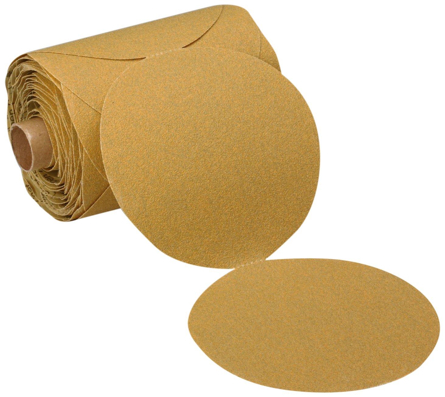 3M Stikit Paper Disc Roll 363I, PSA Attachment, Aluminum Oxide, 5'' Diameter, 80 Grit (Roll of 100) by Cubitron