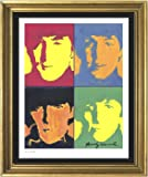 "Andy Warhol Signed & Hand-numbered Limited Edition Lithograph Print, ""The Beatles"" (Unframed)"