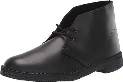 Clarks Mens Desert Boot Black Size: 11.5