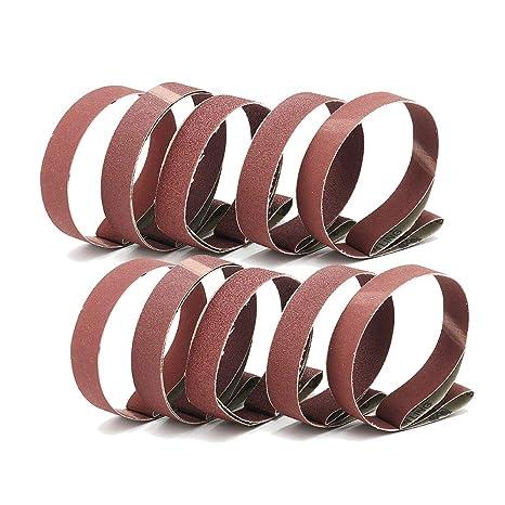 Amazon.com: Cinturones de lija de 1.0 x 30.0 in, granos 60 ...