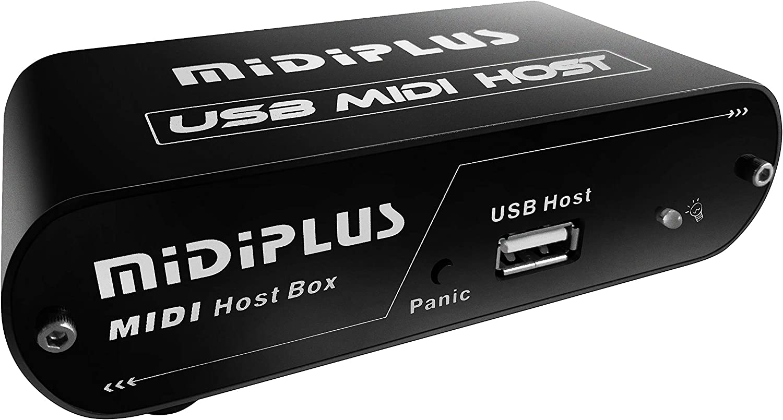midiplus USB MIDI Host) Interior Negro cargador de ...
