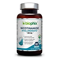 Nicotinamide Hyaluronate 600 mg 60 Vcaps - Natural Flush-Free | Gluten-Free Nicotinic...