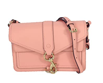 db5cec9dd6 Image Unavailable. Image not available for. Color  Rebecca Minkoff Hudson  Moto Saffiano Leather Crossbody Bag ...