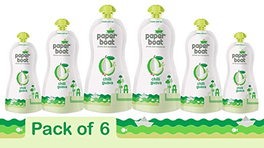 Paperboat Chilli Guava, 200ml (Pack of 6)
