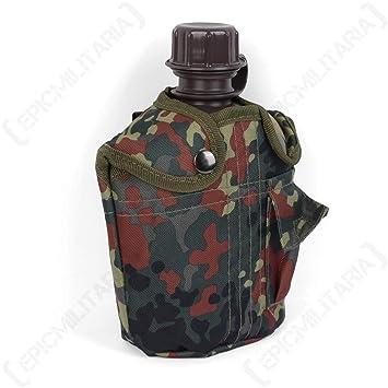 Mil-Tec Us Botella de campo Kst.Imp. 1Ltr Con Casquillo+3006 ...