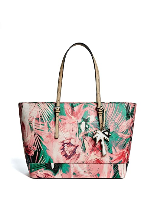 GUESS Factory Women s Peak Tropical Print Tote  Amazon.ca  Sports   Outdoors f85f330b64