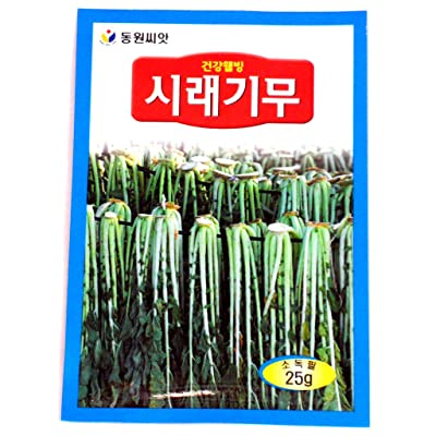 Radish Seeds Korean. 2 Pack(4grams-each) : Radish Plants : Garden & Outdoor