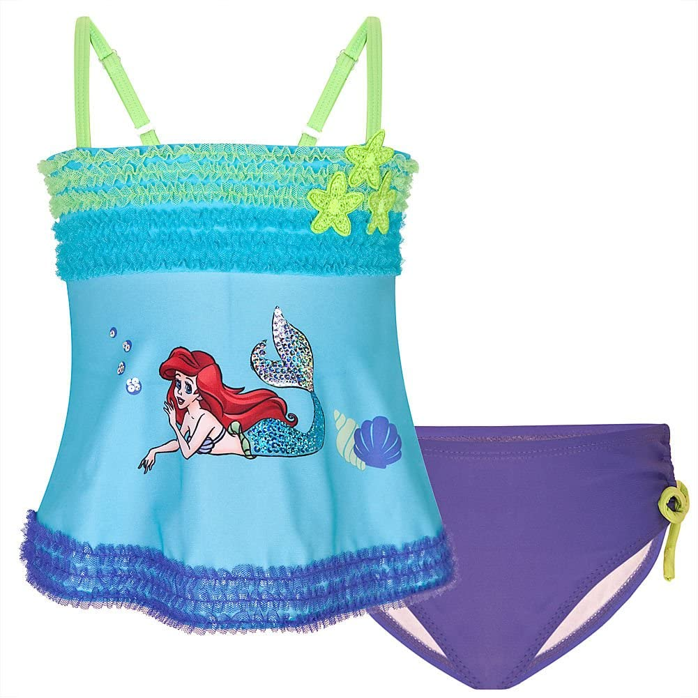 Girls Frozen Surf Suit Girls Disney Frozen Swimming Costume Age 3-8 Years