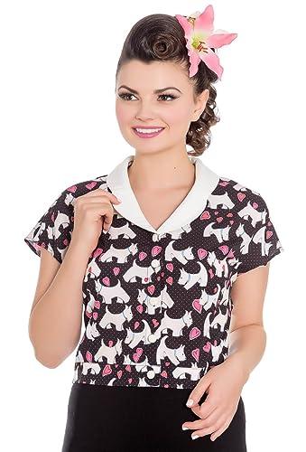 Hell Bunny – Camisas – Manga corta – para mujer