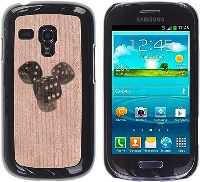 Funda Cubierta Madera de cereza Duro PC Teléfono Estuche / Hard Case for Samsung Galaxy S3 MINI
