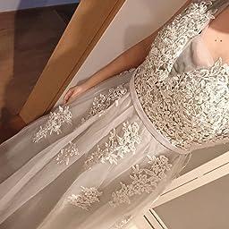 Amazon Babyonlinedress ベビーオンラインドレス レディース 演奏会ロングドレス ワンピースパーティーイブニングお呼ばれ結婚式花嫁二次会ドレスブライズメイドロングフォーマル夏 Xs グレー パーティードレス 通販