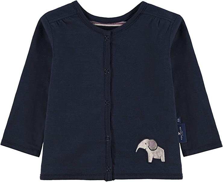 TOM TAILOR Baby-M/ädchen Sweatjacket Sweatjacke
