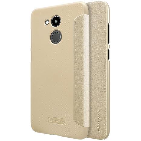 Kepuch Sparkle Huawei Honor V9 Play Funda - Alta Calidad Estuche PU Cuero Brillante Escudos Carcasa Funda Smart Case Cover Cuero Ultra-delgado Para ...
