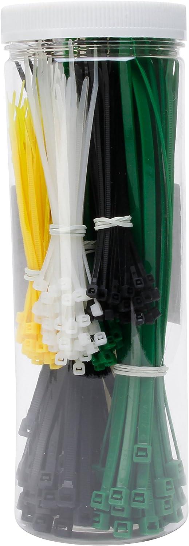 SET 120 Stück Kabelbinder 200 x 2,5 Bund
