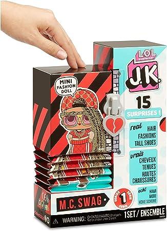 Amazon.es: Giochi Preziosi - L.O.L Surprise JK Muñecas Surtido: Juguetes y juegos
