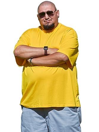dcbc7816676c Big Boy Bamboo Big and Tall Crew Neck T-Shirt with Pocket - Men's Short