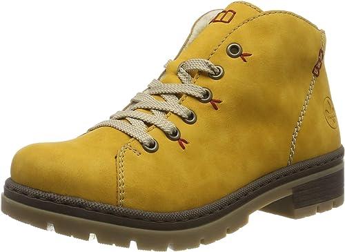 rieker Damen Winterstiefel Gelb Schuhe, Größe:38 | real