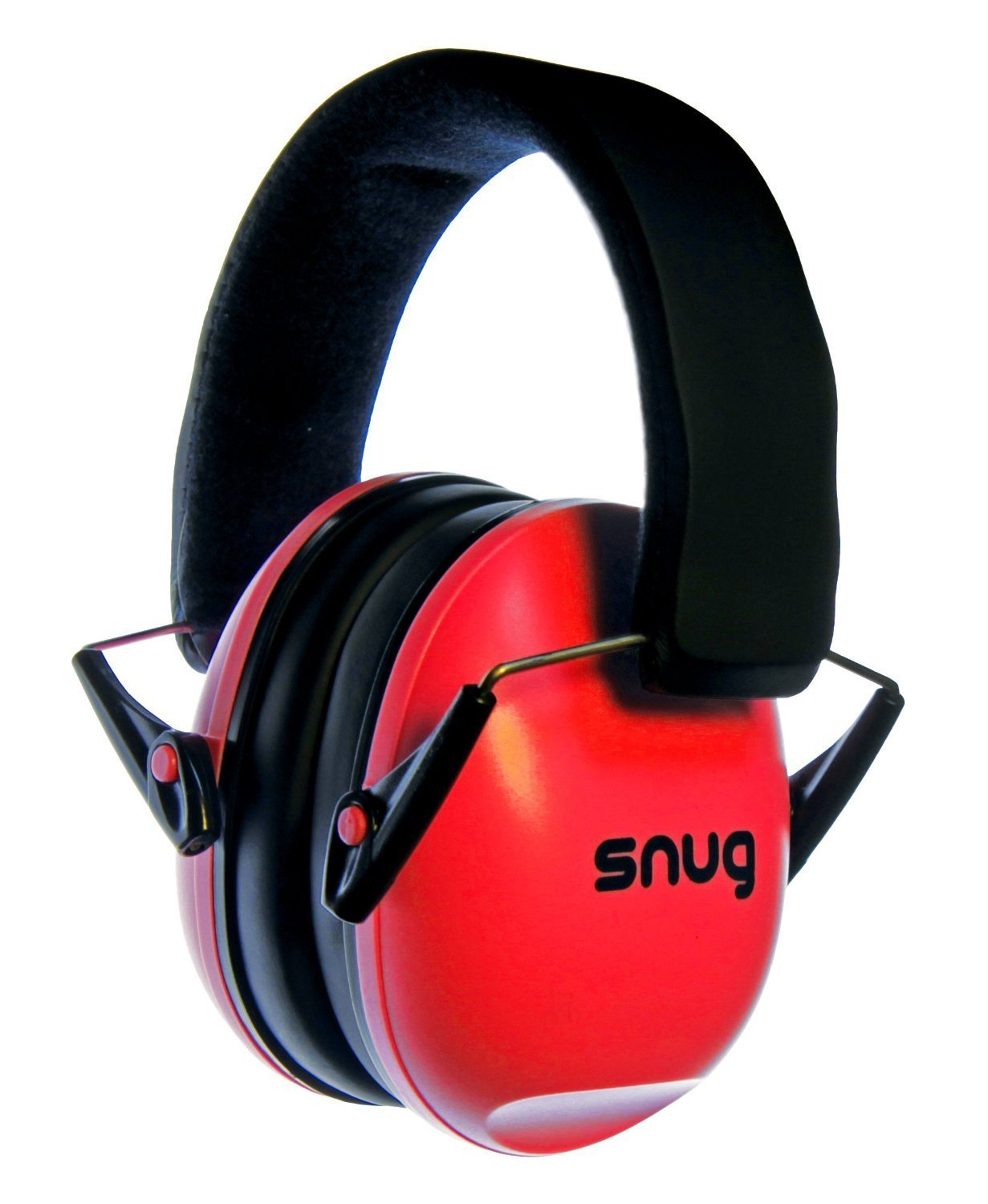 Snug Kids Earmuffs/Hearing Protectors – Adjustable Headband Ear Defenders for Children and Adults (Red) by Snug (Image #1)
