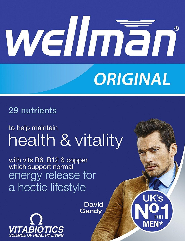 Vitabiotics Wellman 30 tablets x 2 Pack Total 60 Tablets
