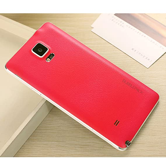 detailed look 7a4c4 ef5ec Amazon.com: Galaxy Note 4 Back Cover, ANLEY Bubble Pack Series ...
