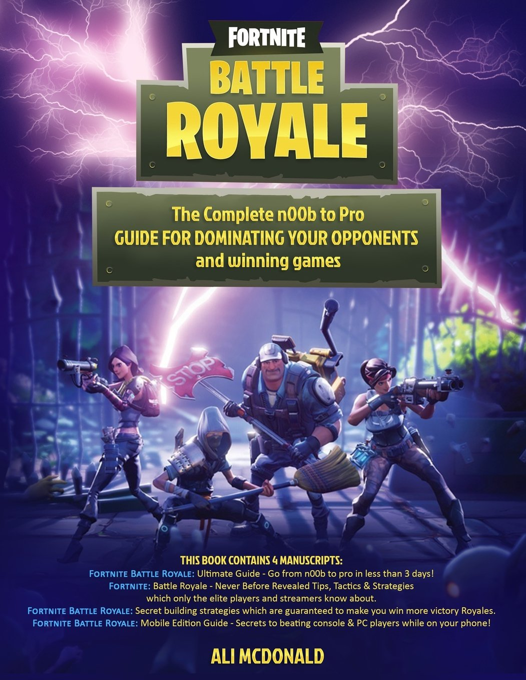 Fortnite Battle Royale 4 In 1 Boxset The Complete N00b To Pro