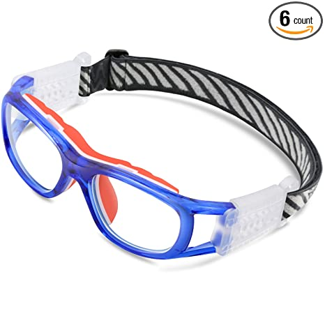 Amazon.com: PONOSOON Sports Goggles Glasses for KIDS for Basketball ...