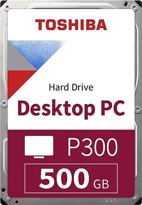 Toshiba P300 - Disco Duro Interno de 500 GB (8,9 cm (3,5